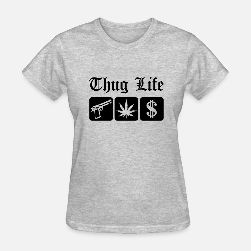 Guns Weed Cash Thug Life By Superstar Spreadshirt