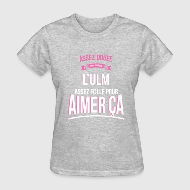 Ulm ULM gifted mad woman gift - Women's T-Shirt