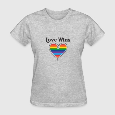 Equality Love Wins Love Wins LGBTQ Coming Out Day - Women's T-Shirt