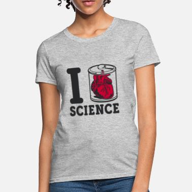 I Heart Science I Heart Specimen Science - Women's T-Shirt