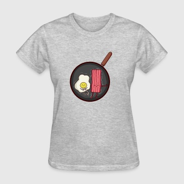 Bacon Fanatic BACON X EGG FRYPAN - Women's T-Shirt