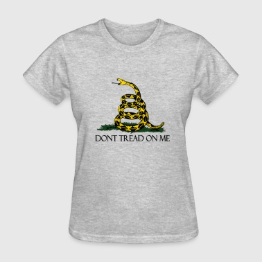 Gadsden Flag Vintage Military Flag - Women's T-Shirt