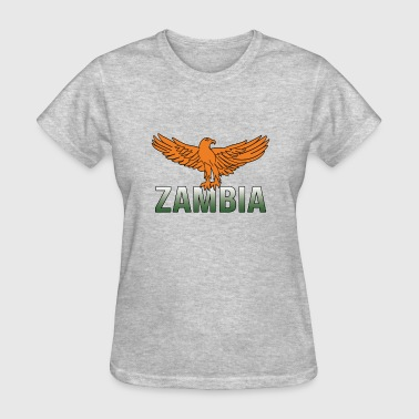 Zambia Eagle Gradient Deluxe Design - Women's T-Shirt