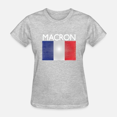 France Designs macron france flag design - Women's T-Shirt