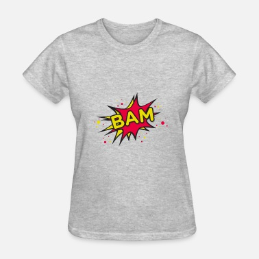 Bam Bam Comic Bam - Women's T-Shirt