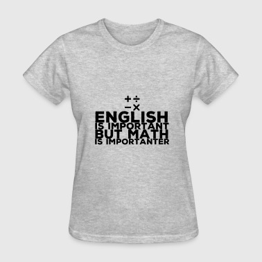 Mathematics - Women's T-Shirt