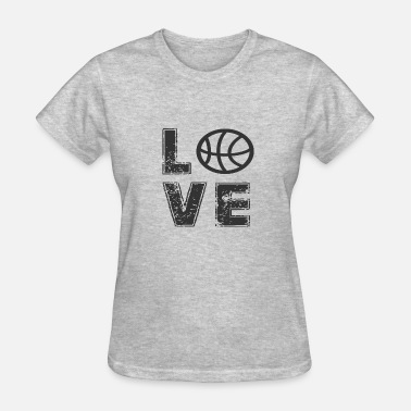 Love Basketball LOVE BASKETBALL - Women's T-Shirt