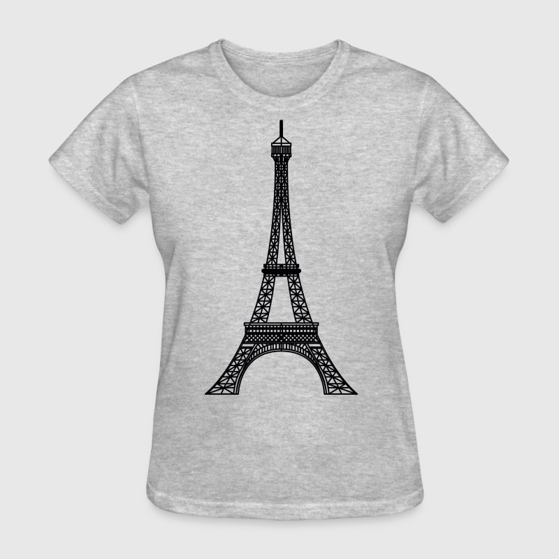 eiffel tower - Women's T-Shirt