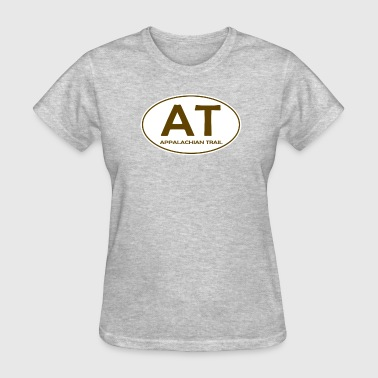 Appalachian Mountains Appalachian Trail Oval AT Design - Women's T-Shirt