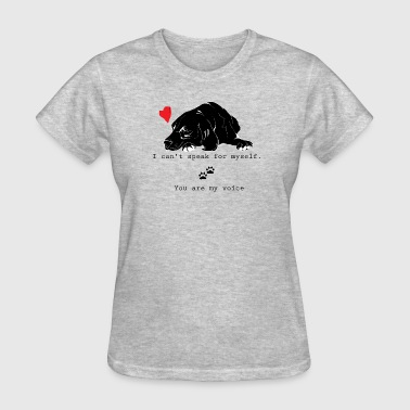 Animal rights - I love dogs - Women's T-Shirt