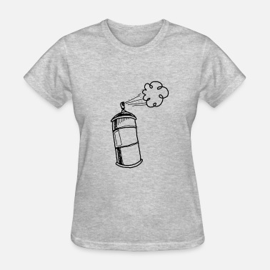 Graffiti Spray graffiti spray bottle artist - Women's T-Shirt