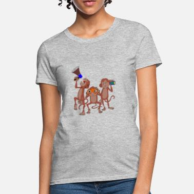Three Of A Kind three monkey - Women's T-Shirt