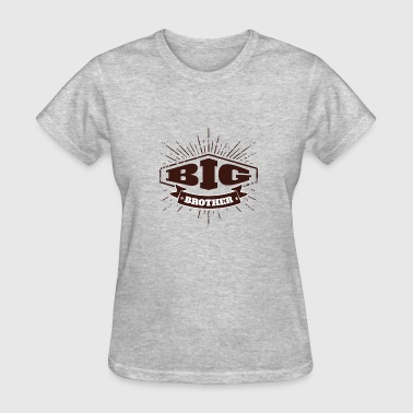 Big Brother Big Sister Big Brother Badge - Women's T-Shirt