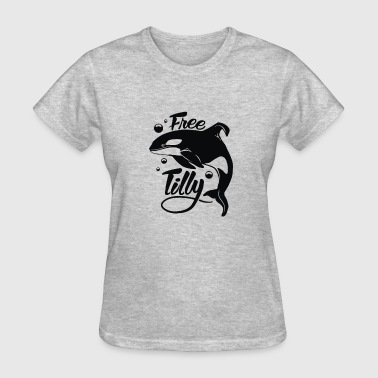 Long Tilly Cyber System - Women's T-Shirt