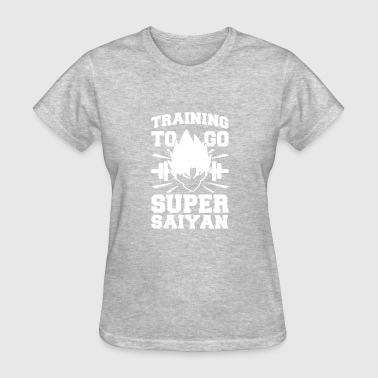 TRAINING TO GO SUPER SAIYAN - Women's T-Shirt