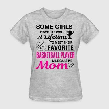 Basketball Mom - Women's T-Shirt
