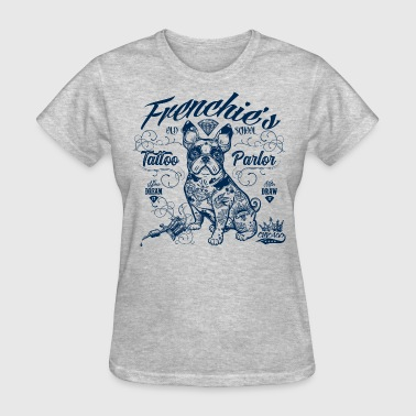 Frenchie's Old School - Women's T-Shirt