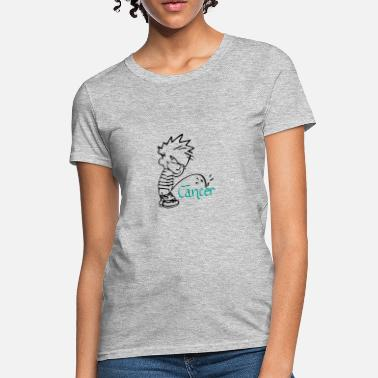865dda071 Boy Peeing Pee on Cancer - 1.png - Women's T