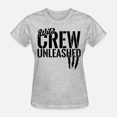 Security Bouncer wild crew unleashed - Women's T-Shirt