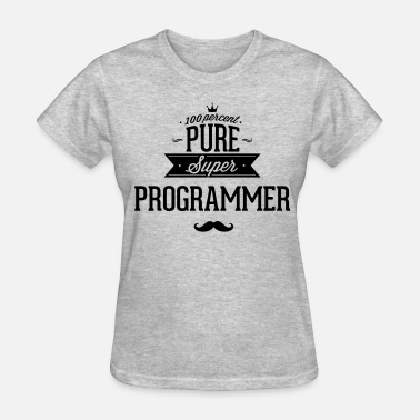 Ope 100 percent pure super programmer - Women's T-Shirt
