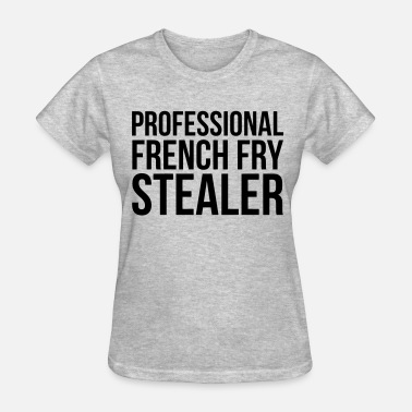 Fry French fry stealer - Women's T-Shirt