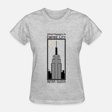 M&m Male Empire City Never Sleeps - M - Women's T-Shirt