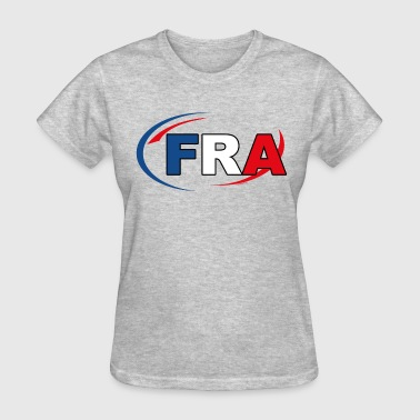 Country Code France - Women's T-Shirt