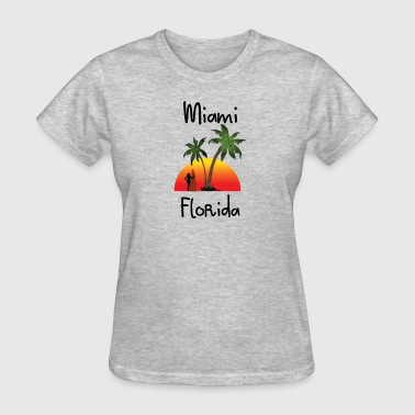 Miami Florida - Women's T-Shirt