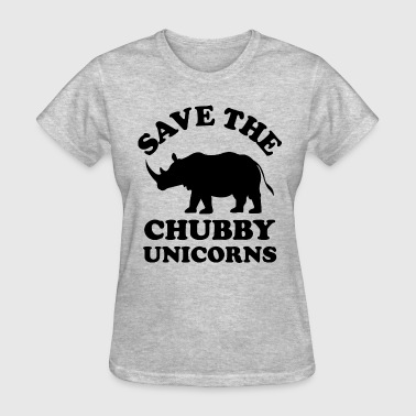 save the chubby unicorn - Women's T-Shirt