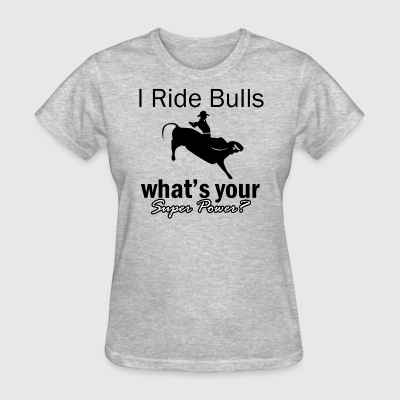 bull rider design - Women's T-Shirt