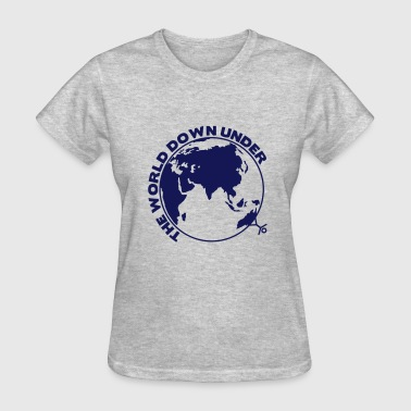 the world down under - Women's T-Shirt