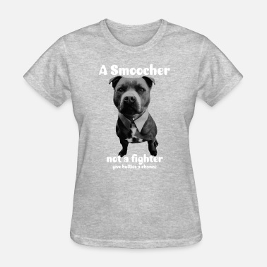 Staffie Dog Fancy Staffy - Women's T-Shirt