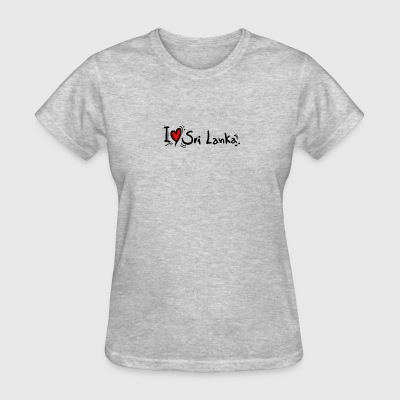I love Sri Lanka tees - Women's T-Shirt