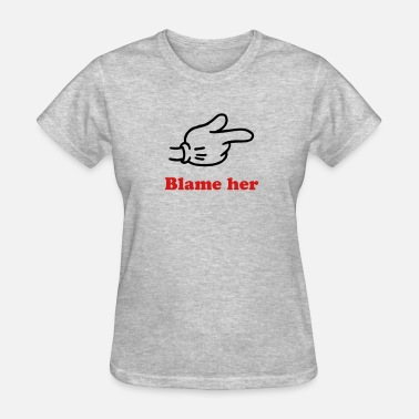 Hand Point Pointing Hand - Women's T-Shirt