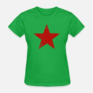 Tarantino Red Star faded - Women's T-Shirt