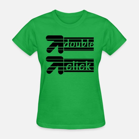 Cursor T-Shirts - cursor - Women's T-Shirt bright green