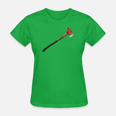 Ax Jokes Fireman Axe Stock - Women's T-Shirt