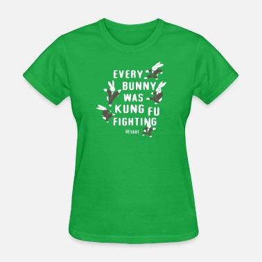 b94ef23dd EVERY BUNNY WAS KUNG FU FIGHTING Women's Polo Shirt   Spreadshirt