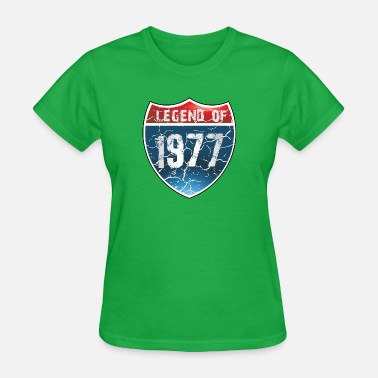 1977 Legend Legend Of 1977 - Women's T-Shirt