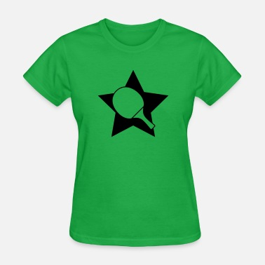 Table Tennis Paddle Table tennis paddle star - Women's T-Shirt