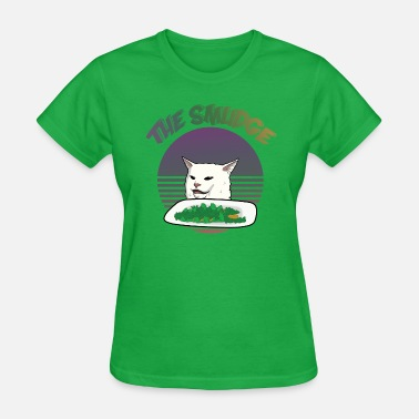 Smudge Smudge The Cat Meme - Women's T-Shirt