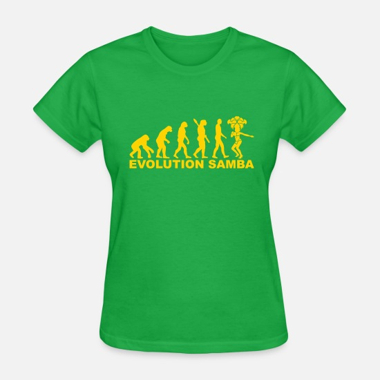 Samba T-Shirts - Samba - Women's T-Shirt bright green