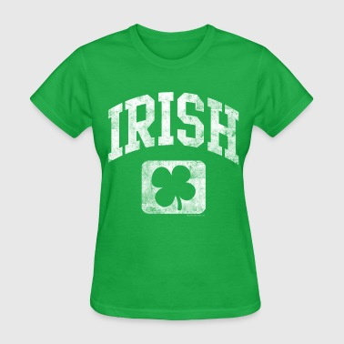 Grunge Irish Logo - Women's T-Shirt