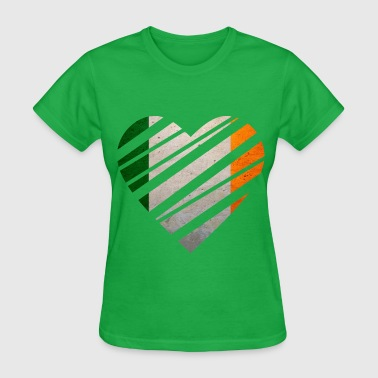 Ireland Heart - Women's T-Shirt