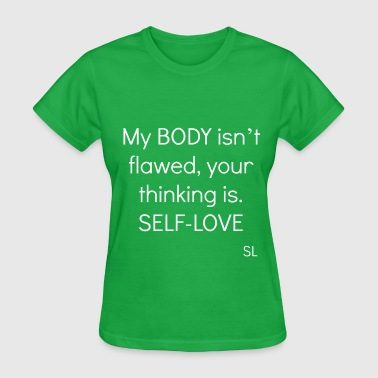 Body Positive BODY Positive Quotes Tee - Women's T-Shirt