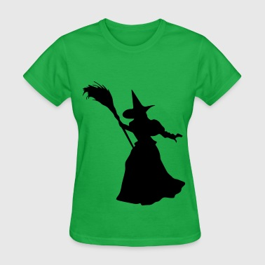 Nasty Witches Witch Broom Walk - Women's T-Shirt