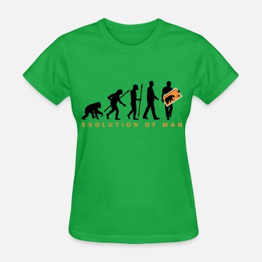 Philatelist evolution_philatelist_11_201602 - Women's T-Shirt