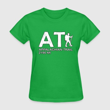 Appalachian Mountains Appalachian Trail AT Hiker - Women's T-Shirt