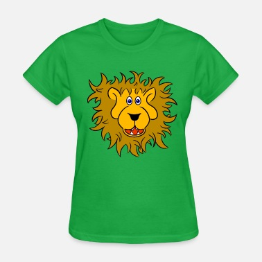Lions Head Lion head of a friendly lion - Women's T-Shirt