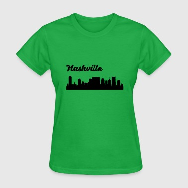 Nashville Tn Nashville TN Skyline - Women's T-Shirt